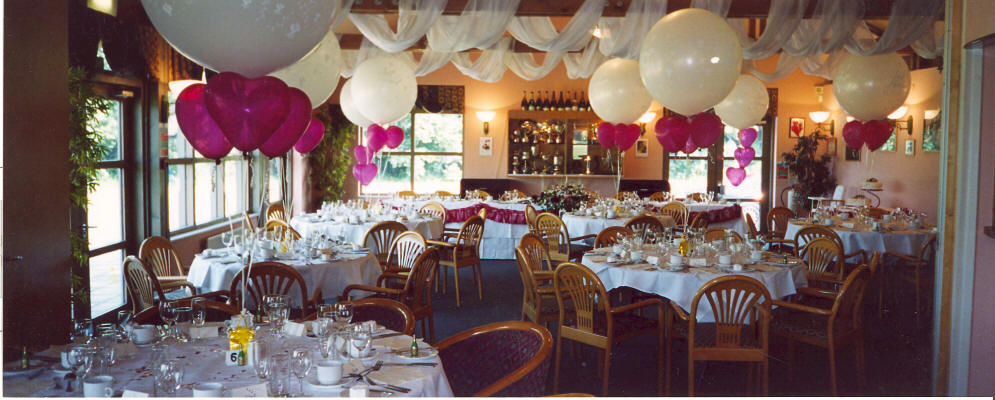 Burstead Golf Club Wedding Banqueting Suite