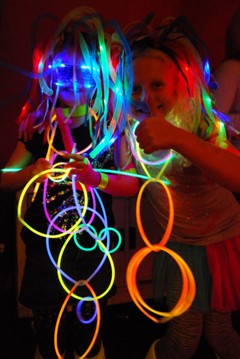 Glowsticks Kids parties
