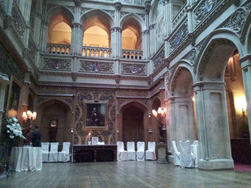Downton Abbey Hiclere Castle Wedding Venue Review by DJ ...