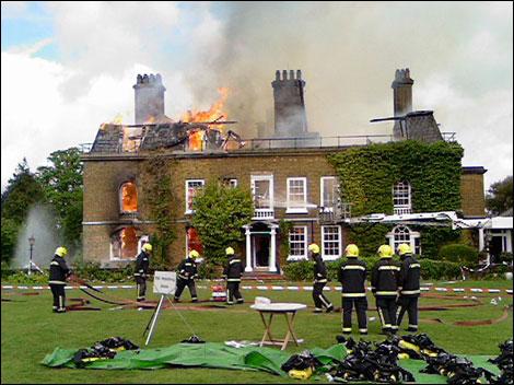 Orsett Hall Fire