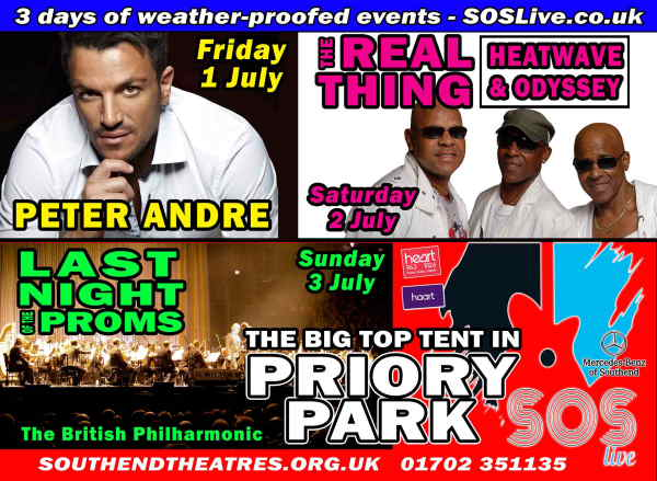 Discount code SOS Priory Park Live Tickets